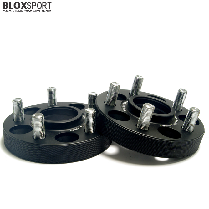 BLOXSPORT 25mm Forged AL7075-T6 Wheel Spacers -Freelander II/LR2