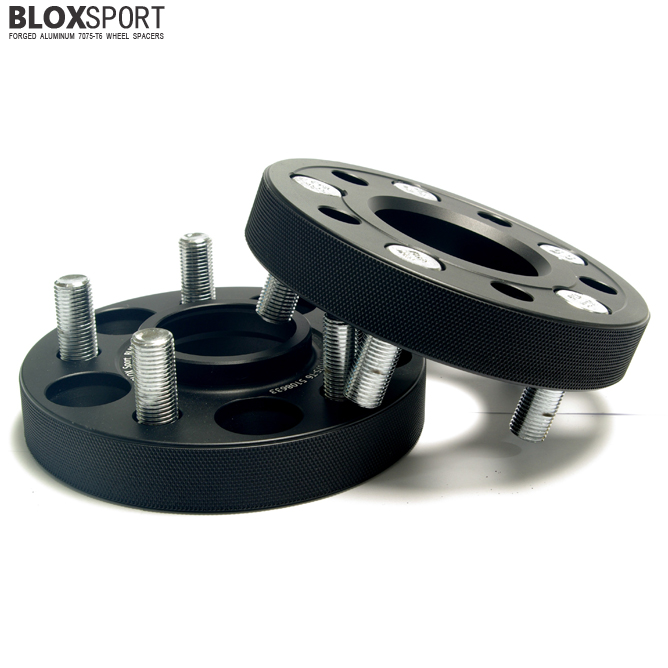 BLOXSPORT 25mm Forged Aluminum 7075-T6 Wheel Spacers for Evoque