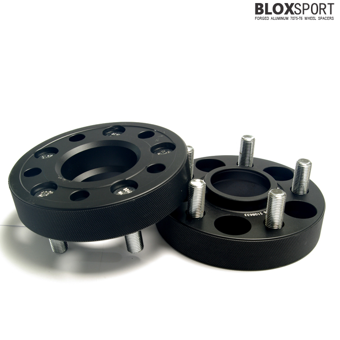 BLOXSPORT 30mm Forged Aluminum 7075-T6 Wheel Spacers for Evoque