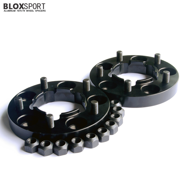 BLOX 45mm Aluminum 7075-T6 Wheel Spacer for Land Rover Defender