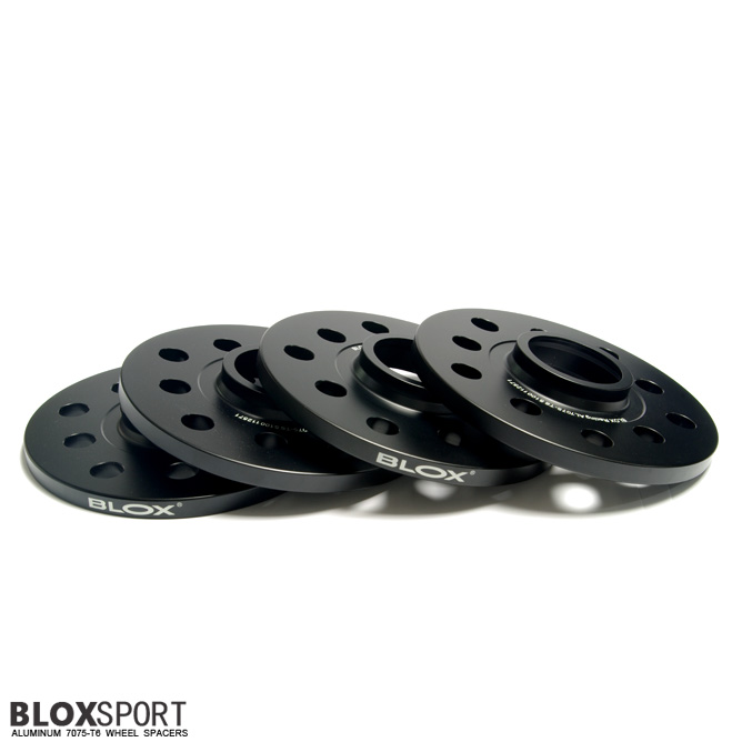 BLOXSPORT 10mm Aluminum 7075T6 Wheel Spacers for Audi R8