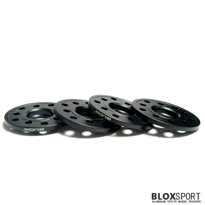 BLOXSPORT 10mm Aluminum 7075T6 Wheel Spacers for Audi A3 S3 (8V)