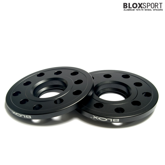 BLOXSPORT 10mm Aluminum 7075T6 Wheel Spacers for Audi A4 S4 (B7)