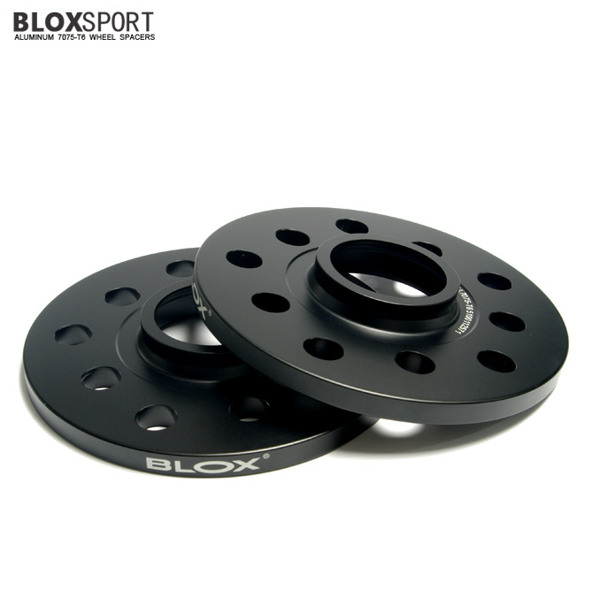 BLOXSPORT 10mm Aluminum 7075T6 Wheel Spacers for Audi A4 S4 (B6)