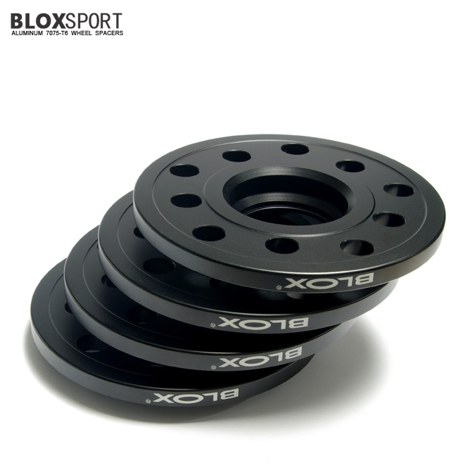 BLOXSPORT 10mm Aluminum 7075T6 Wheel Spacers for Audi A6 S6 (C5)