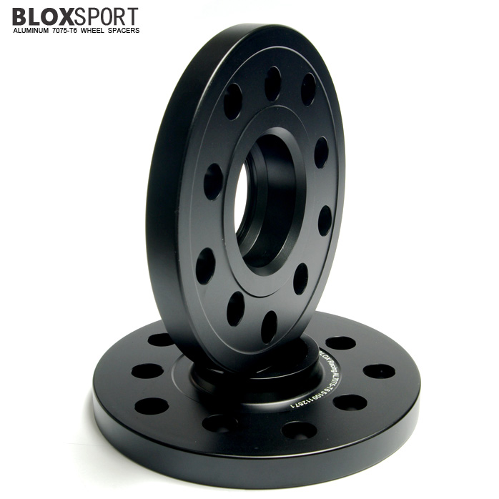 BLOXSPORT 15mm Aluminum 7075T6 Wheel Spacers for Audi A8 S8 (D2)
