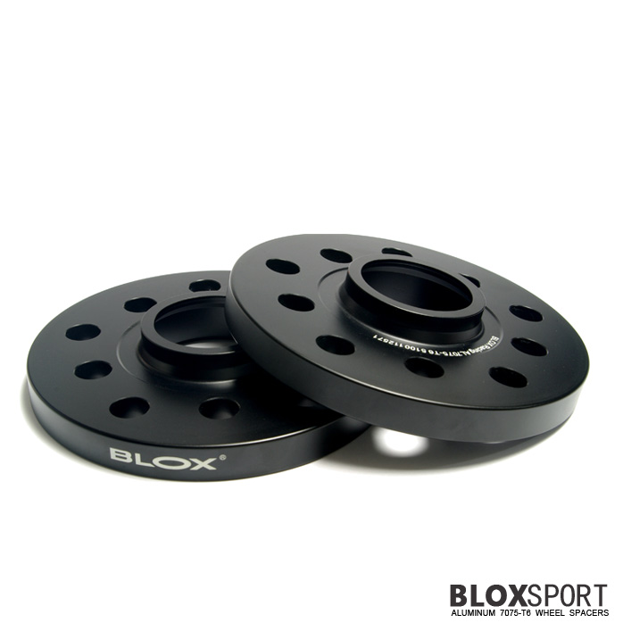 BLOX 15mm Aluminum 7075T6 Wheel Spacers for Audi A2