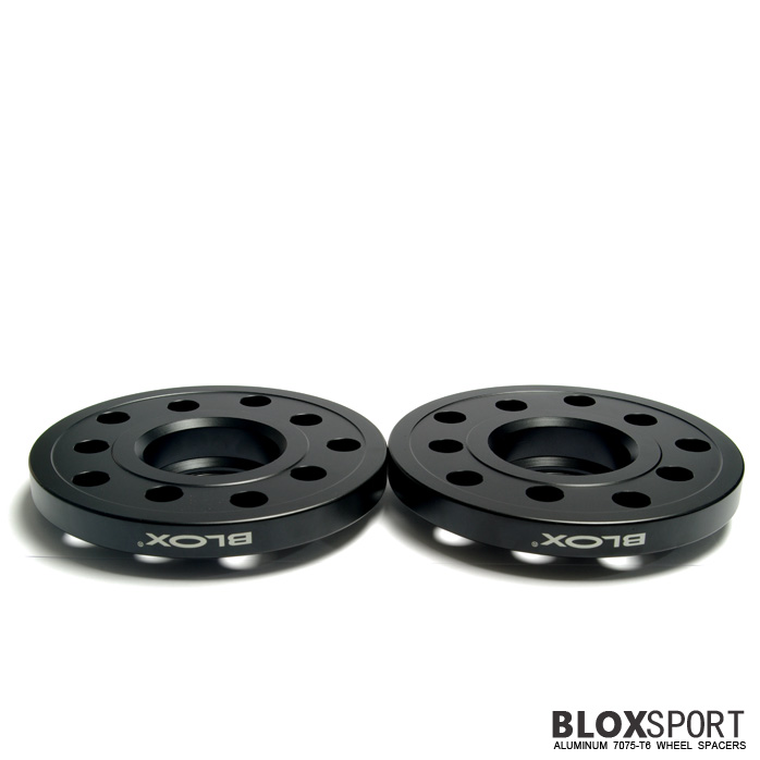 BLOXSPORT 15mm Aluminum 7075T6 Wheel Spacers for Audi A4 S4 (B7)