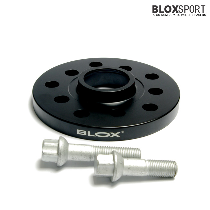 BLOXSPORT 15mm Aluminum 7075T6 Wheel Spacers for Audi A6 S6 (C6)