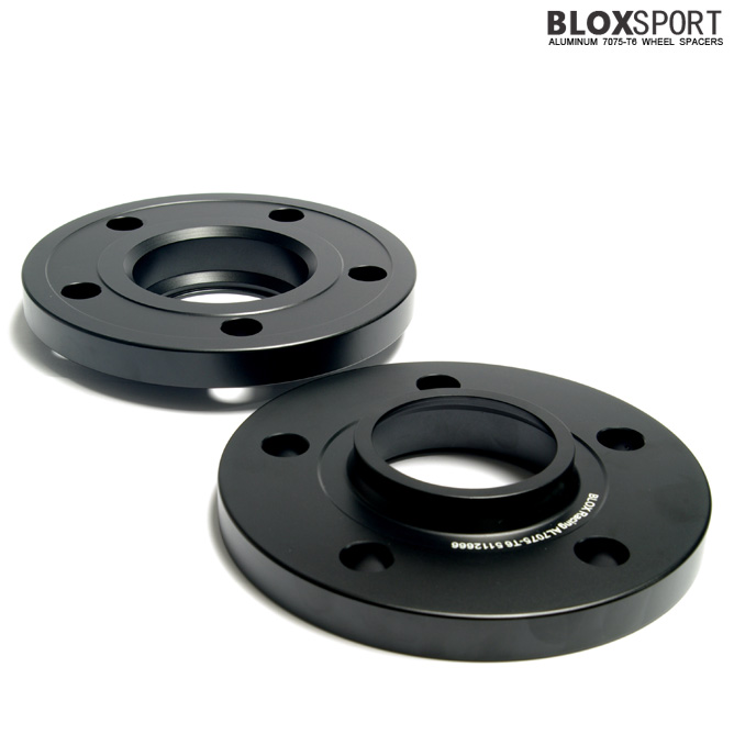 BLOX 15mm Aluminum 7075T6 Wheel Spacers for Audi A8 S8 (D4)