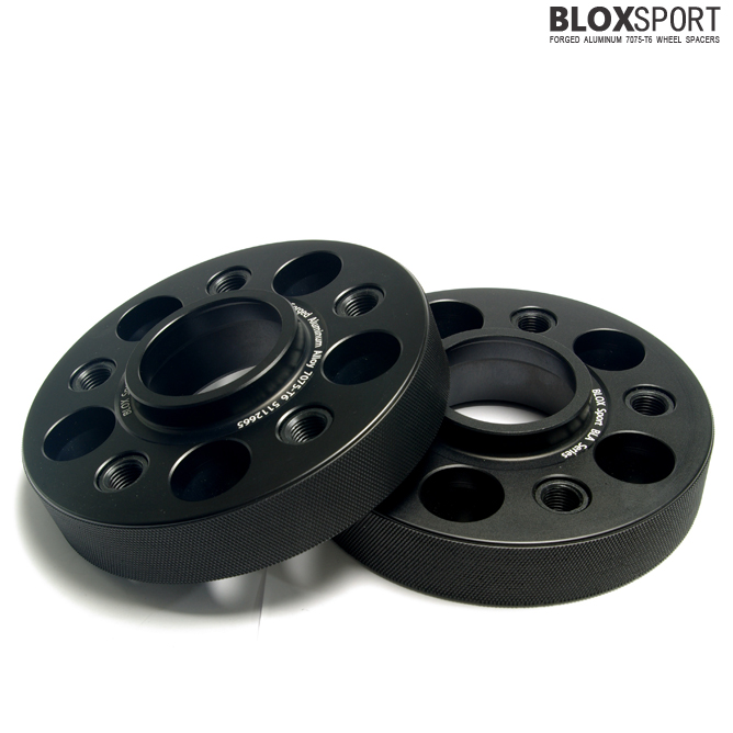 BLOXSPORT 30mm Aluminum 7075T6 Wheel Spacers - Audi A4 S4 RS4 B8