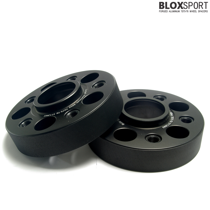 BLOXSPORT 35mm Aluminum 7075T6 Wheel Spacers - Audi A4 S4 RS4 B8