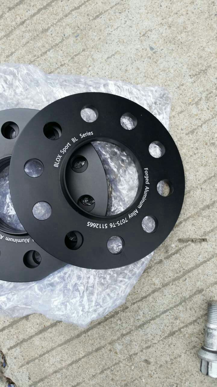 Mercedes benz c63 w204 with 8mm wheel spacers bloxsport for Wheel spacers for mercedes benz