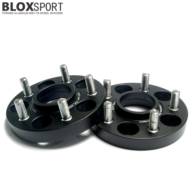 BLOXSPORT 5x108 CB63.4mm Forged 6061T6 Hub Centric Wheel Spacers