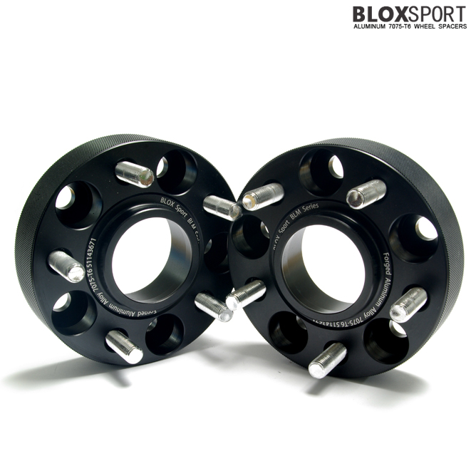 BLOX 35mm Forged AL 7075-T6 Wheel Spacers-HYUNDAI Genesis Coupe
