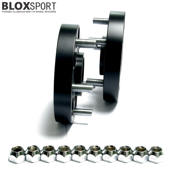 BLOXSPORT Forged Aluminum 6061-T6 Wheel Spacers - INFINITI QX70