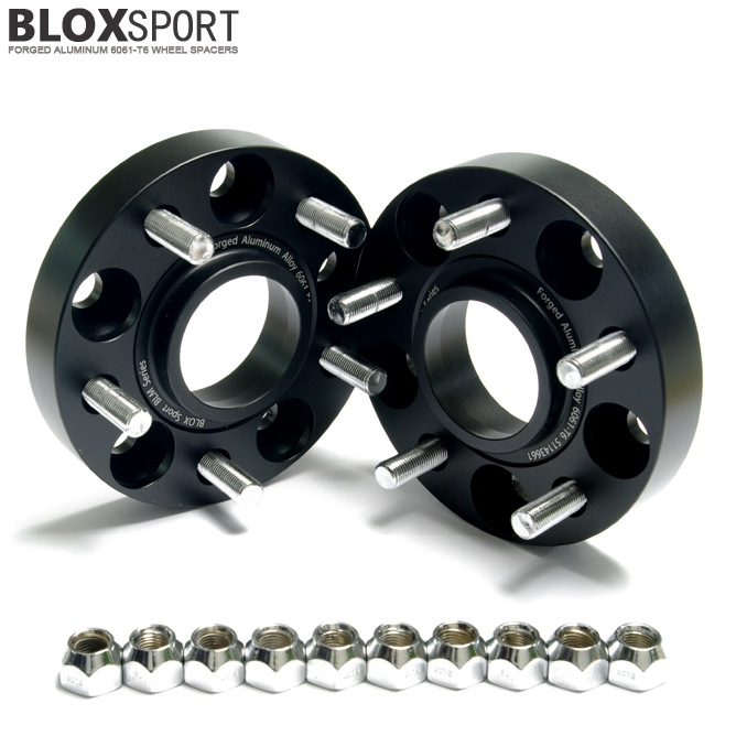 BLOXSPORT Forged 6061-T6 Wheel Spacers - Nissan Silvia 240SX S15