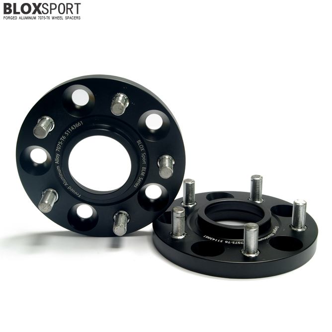 BLOXSPORT 15mm AL 7075T6 Wheel Spacers-Nissan Murano Z50 (02-07)