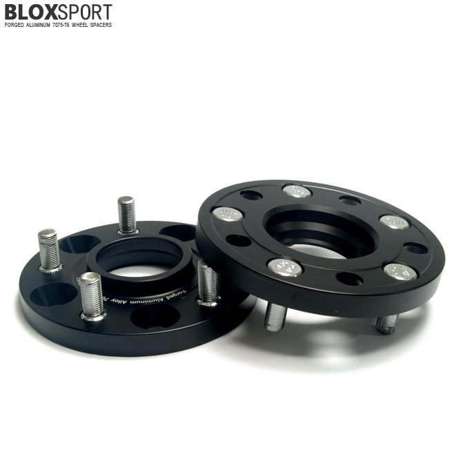 BLOXSPORT 15mm AL 7075T6 Wheel Spacers-Nissan 350Z Z33 (02-08)