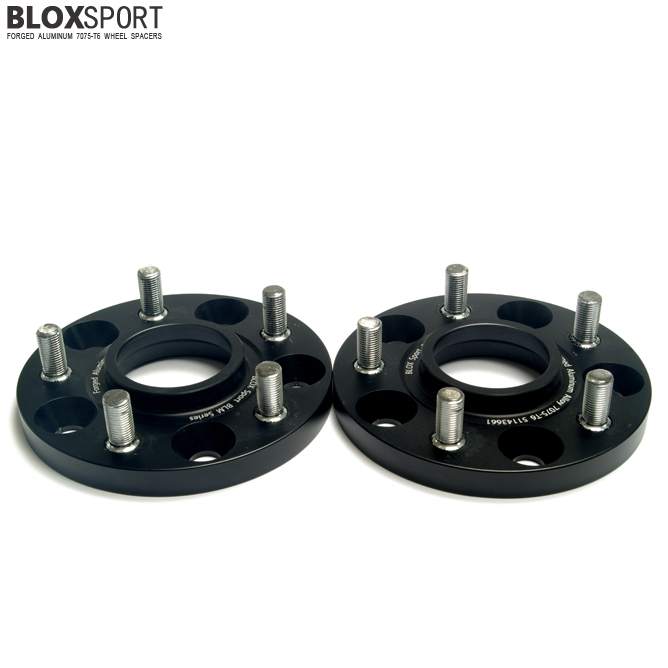 BLOXSPORT 15mm AL 7075T6 Wheel Spacers-Nissan Rogue 2nd (14- )