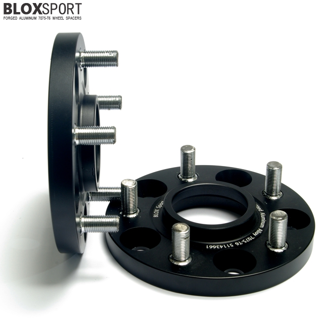 BLOXSPORT 15mm AL 7075T6 Wheel Spacers-Nissan Versa Tiida 12-15