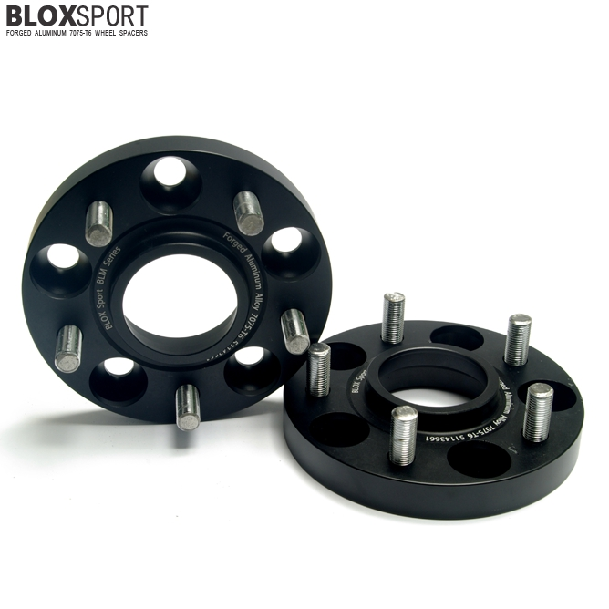 BLOXSPORT 20mm AL 7075T6 Wheel Spacers-Nissan Versa Tiida (15- )