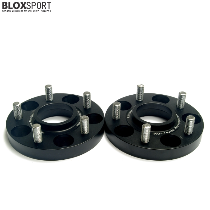 BLOXSPORT 20mm AL 7075T6 Wheel Spacers-Nissan Rogue 2nd (14- )