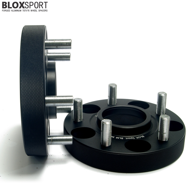 BLOXSPORT 25mm AL 7075T6 Wheel Spacers-Nissan Versa Tiida 12-15