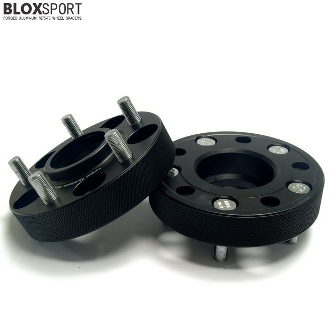 BLOXSPORT 30mm Forged Aluminum 7075T6 Wheel Spacers-Nissan LEAF