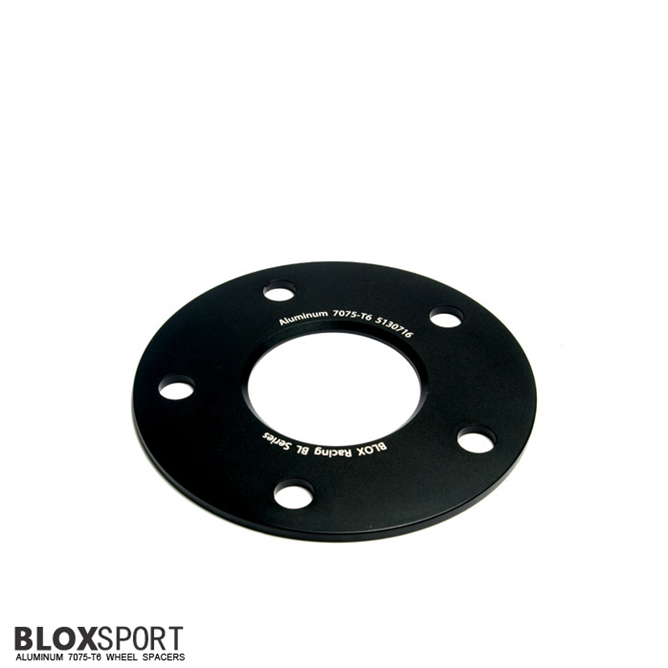 BLOX 5mm Aluminum 7075T6 Wheel Spacer for PORSCHE Boxster(S) 981