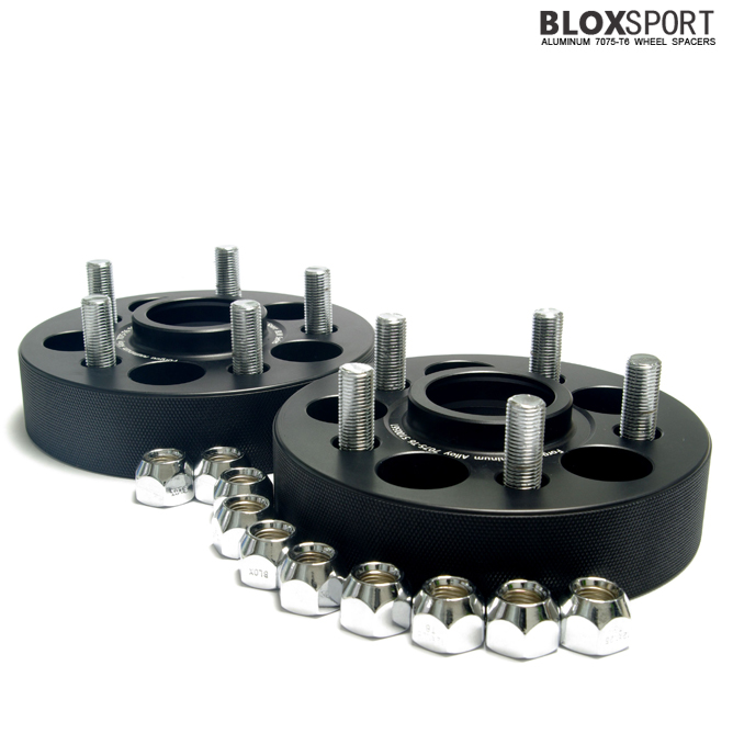 BLOX 30mm Forged Aluminium 7075T6 Wheel Spacers for SUBARU XV