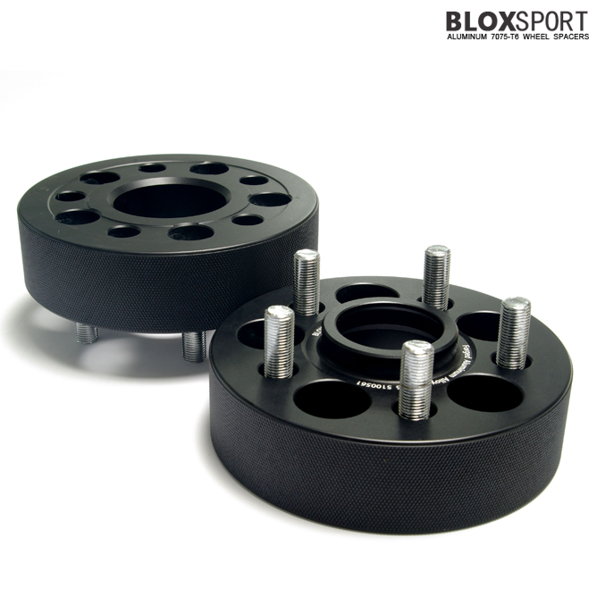 BLOX 35mm Forged Aluminium 7075T6 Wheel Spacers for SUBARU XV