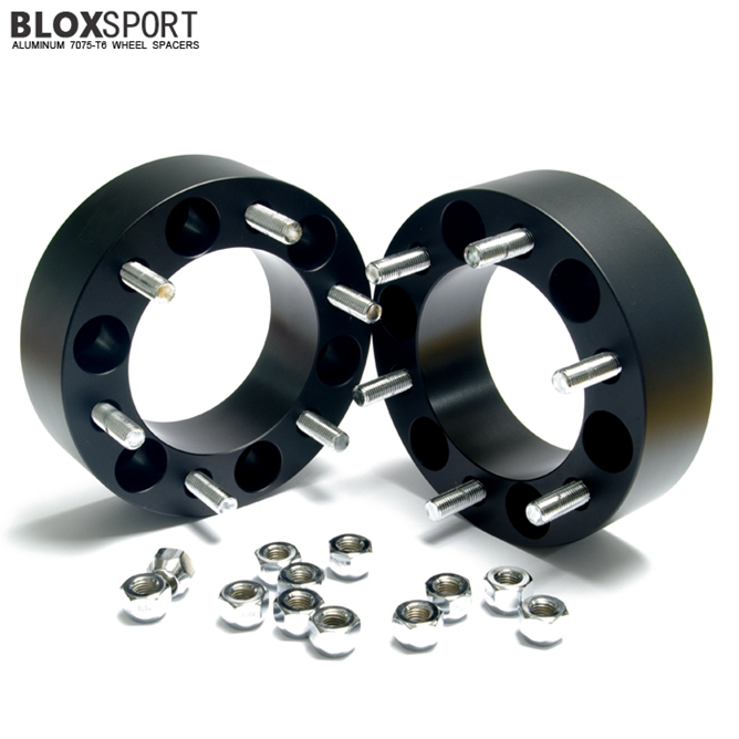 BLOX 50mm Forged Aluminum 7075T6 Wheel Spacer-Ssang Yong Korando