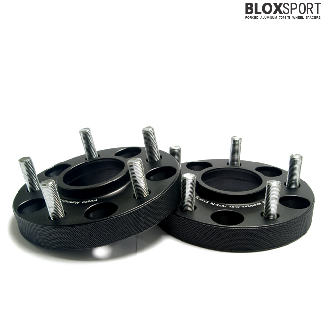 BLOXSPORT 25mm Forged AL7075-T6 Wheel Spacers - JEEP Wrangler JK