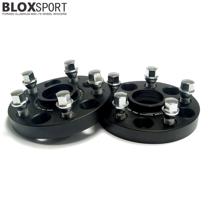 BLOXSPORT 5x112 CB57.1mm Forged 6061T6 Hub Centric Wheel Spacers