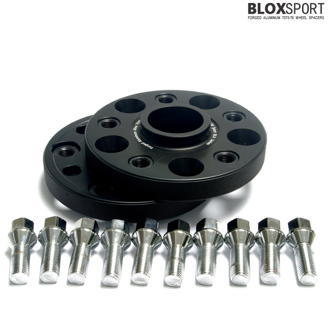BLOXSPORT 20mm Aluminum 7075T6 Wheel Spacers-Audi A6 S6 RS6 (C6)