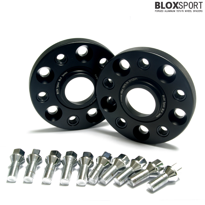 BLOXSPORT 20mm Aluminum 7075T6 Wheel Spacers for Audi A4 S4 (B6)