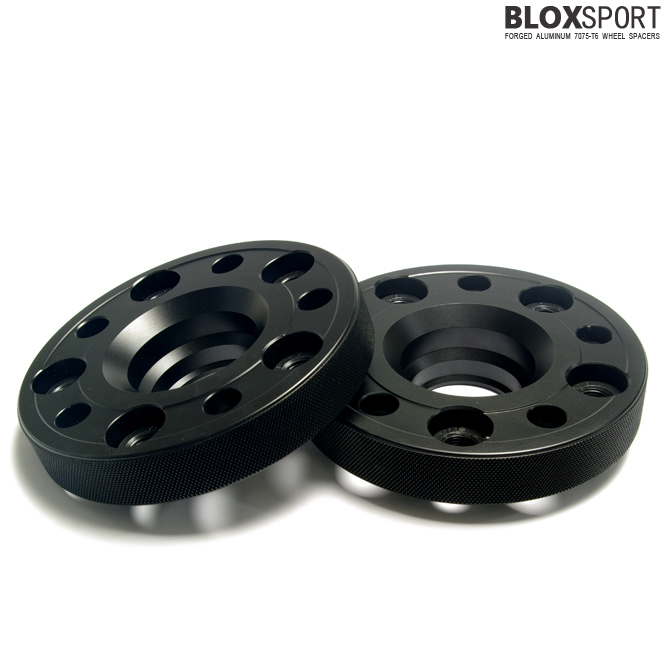 BLOXSPORT 25mm AL7075-T6 Wheel Spacers - Volkswagen GOLF V (GTI)