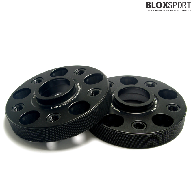 BLOXSPORT 25mm AL7075-T6 Wheel Spacers-Volkswagen GOLF VII (GTI)