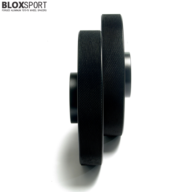 BLOXSPORT 25mm Aluminum 7075T6 Wheel Spacers - Audi A4 S4 RS4 B7