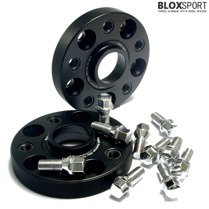 BLOXSPORT 25mm AL7075-T6 Wheel Spacers for Volkswagen Passat B5
