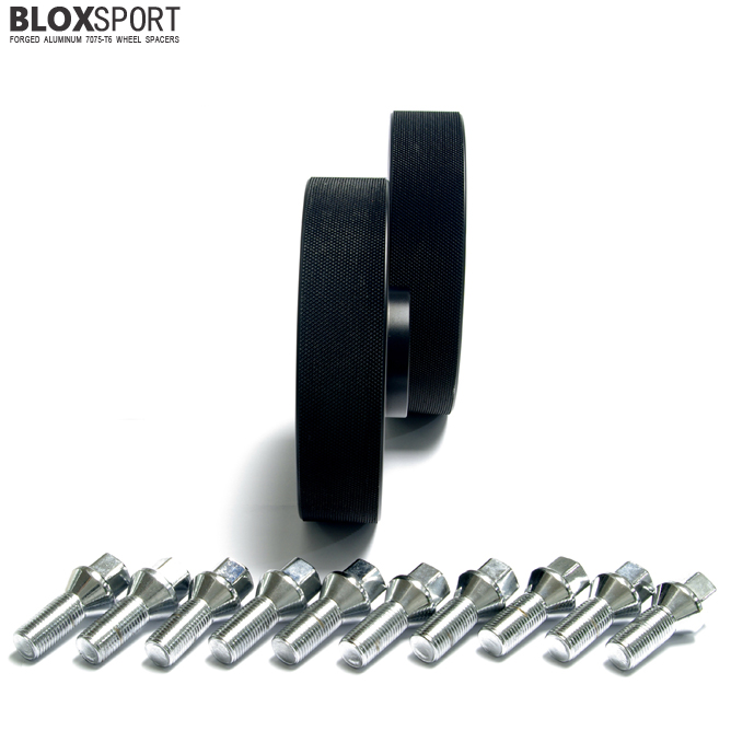 BLOXSPORT 30mm Aluminum 7075T6 Wheel Spacers - Audi A4 S4 RS4 B7