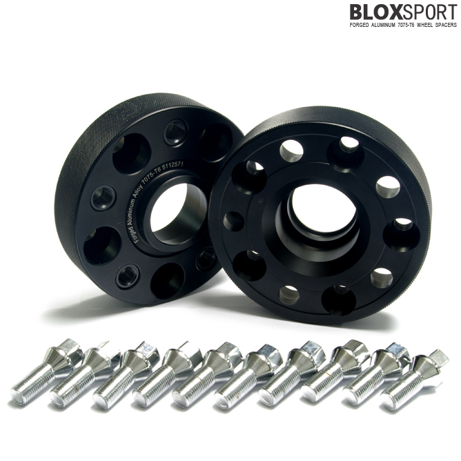 BLOXSPORT 30mm Aluminum 7075T6 Wheel Spacers - Audi A4 S4 RS4 B6