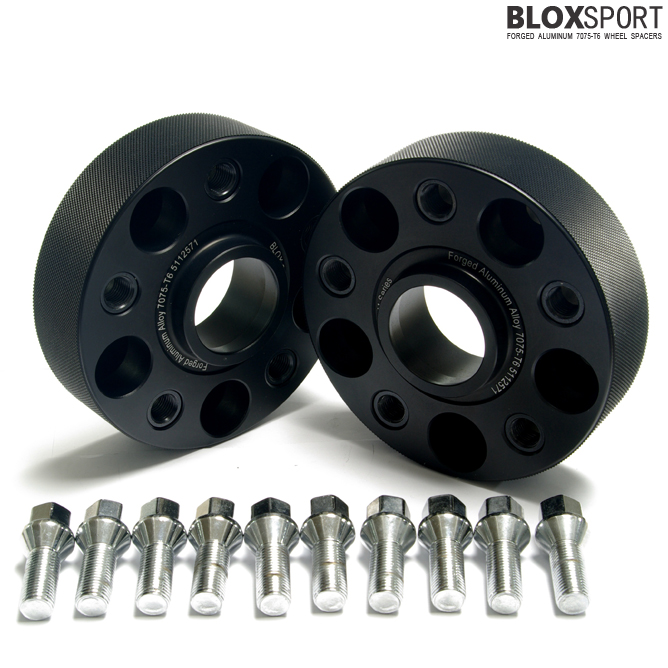 BLOXSPORT 35mm Aluminum 7075T6 Wheel Spacers - Audi A4 S4 RS4 B7