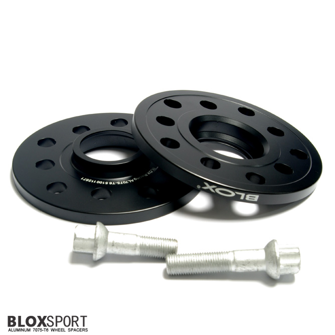 BLOXSPORT 10mm Aluminum 7075T6 Wheel Spacers for Audi A8 S8 (D3)