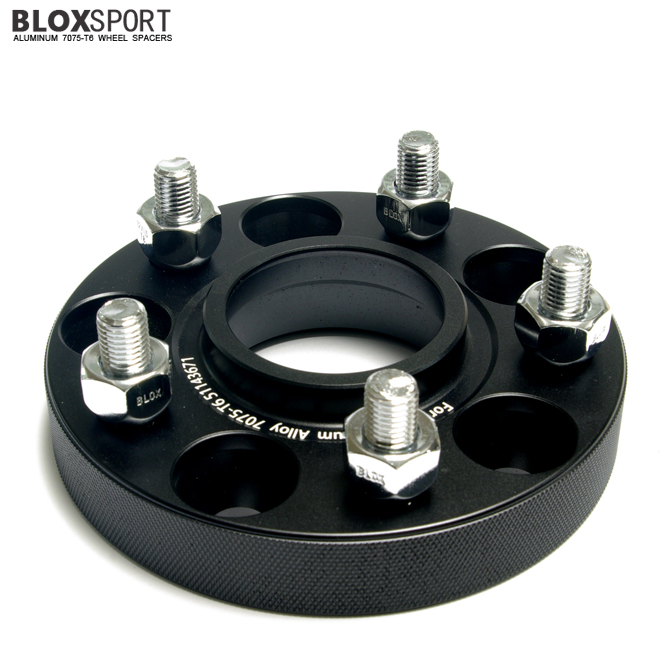 BLOX 25mm Forged Aluminium 7075T6 Wheel Spacers for HYUNDAI IX20