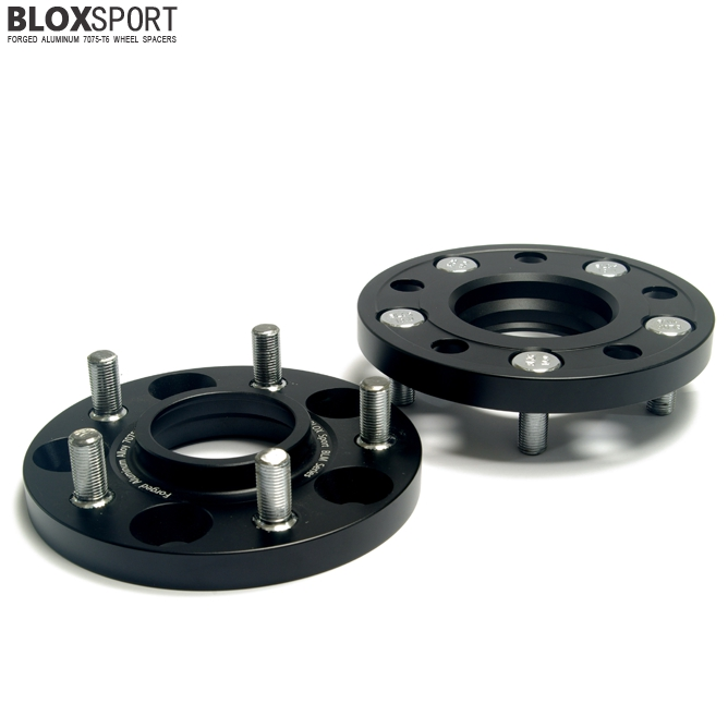 BLOXSPORT 15mm AL 7075T6 Wheel Spacers-Nissan Rogue 1st (08-13)