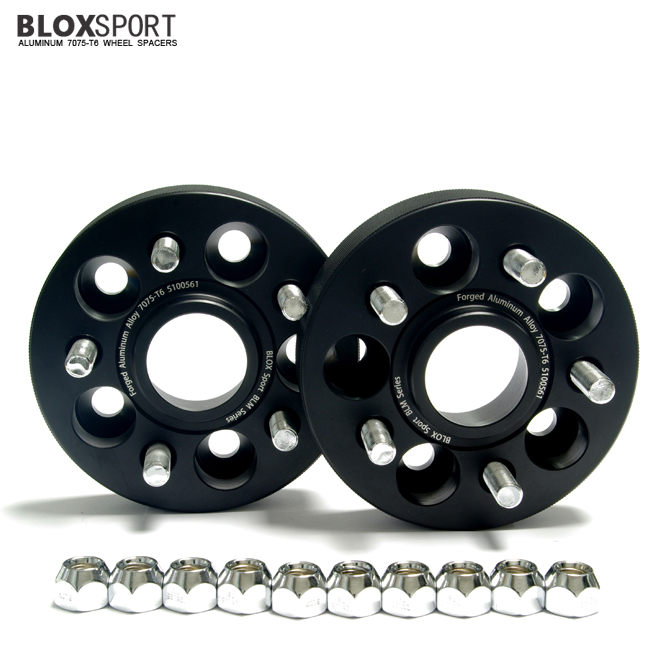 BLOX 30mm Forged AL7075T6 Wheel Spacers-SUBARU Impreza WRX 02-14