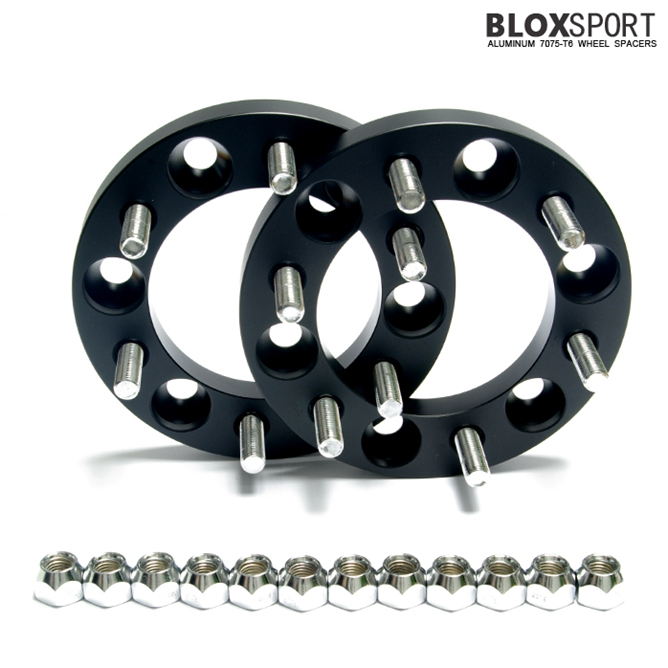 BLOX 20mm Forged Aluminum 7075T6 Wheel Spacer-Ssang Yong Rexton