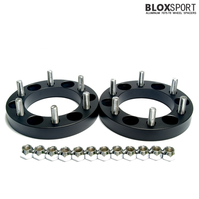 BLOX 25mm Forged Aluminum 7075T6 Wheel Spacer-Ssang Yong Korando